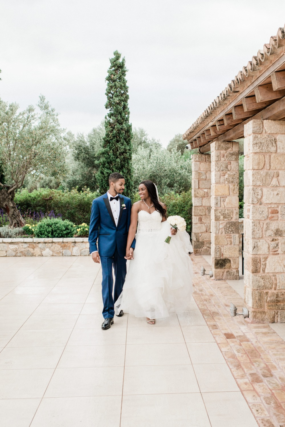 Brenae and Ryan's Romantic Destination Wedding in Greece gallery image 12