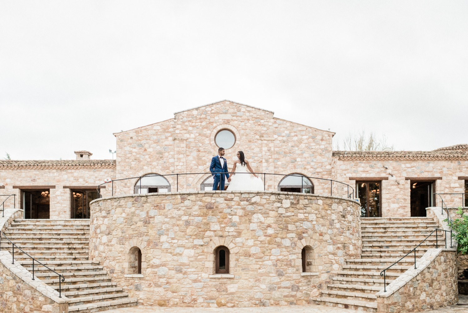 Brenae and Ryan's Romantic Destination Wedding in Greece gallery image 13