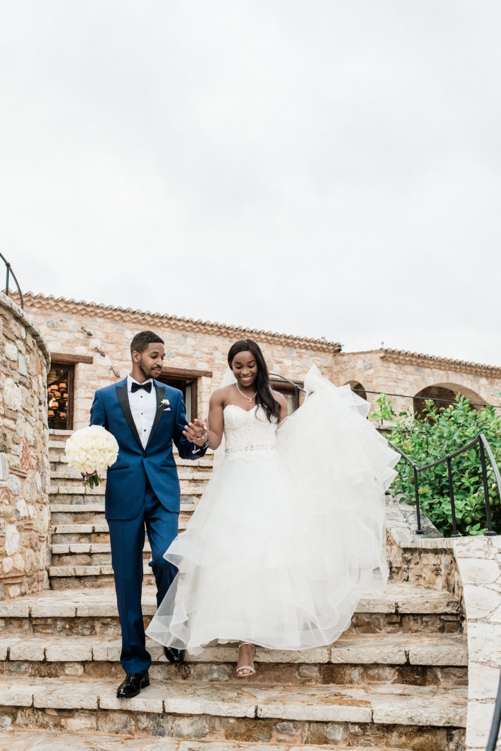 Brenae and Ryan's Romantic Destination Wedding in Greece gallery image 14
