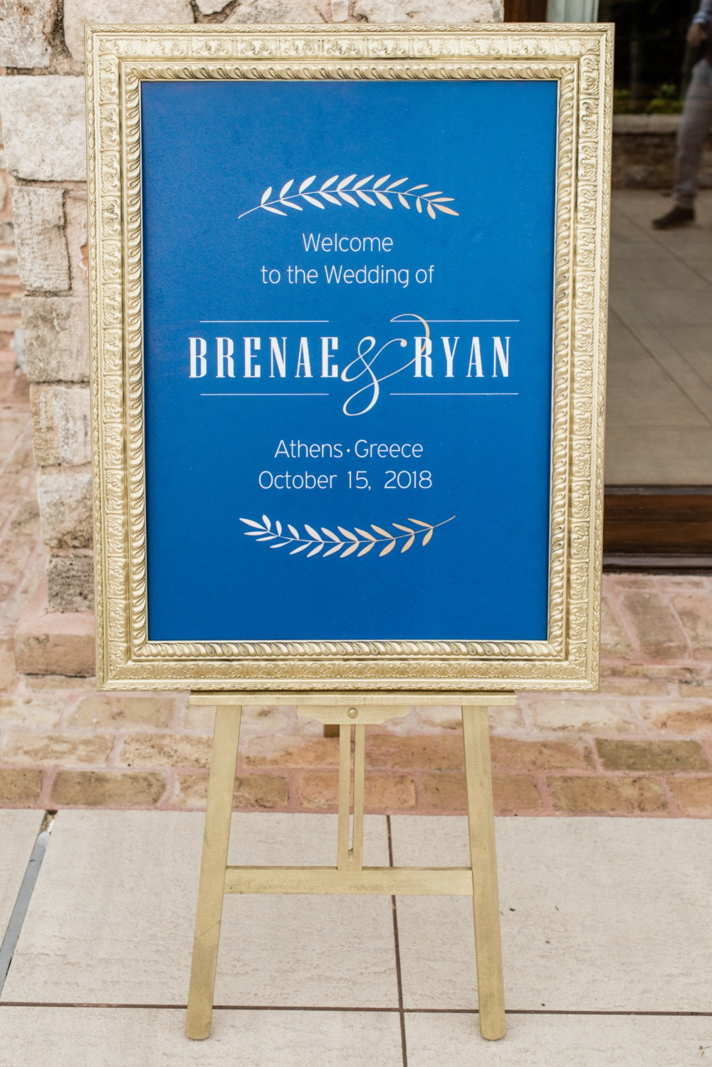 Brenae and Ryan's Romantic Destination Wedding in Greece gallery image 20
