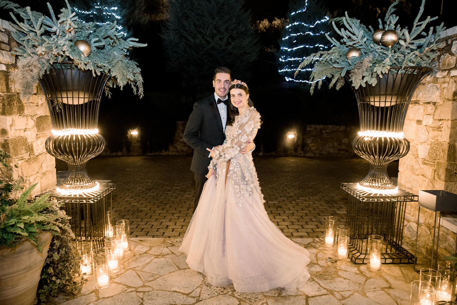 The wonderful weddinng of Nikos and Evangelia gallery image 1