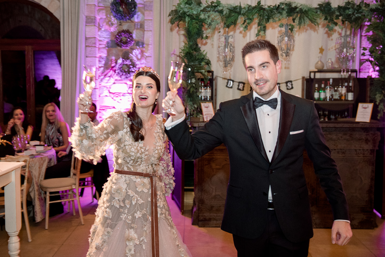 The wonderful weddinng of Nikos and Evangelia gallery image 12