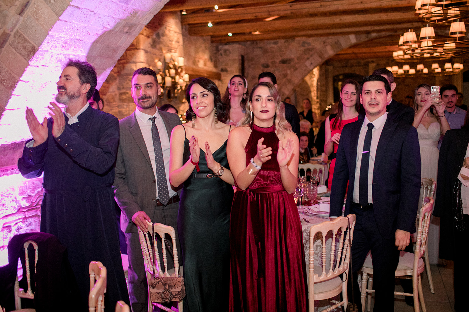 The wonderful weddinng of Nikos and Evangelia gallery image 11