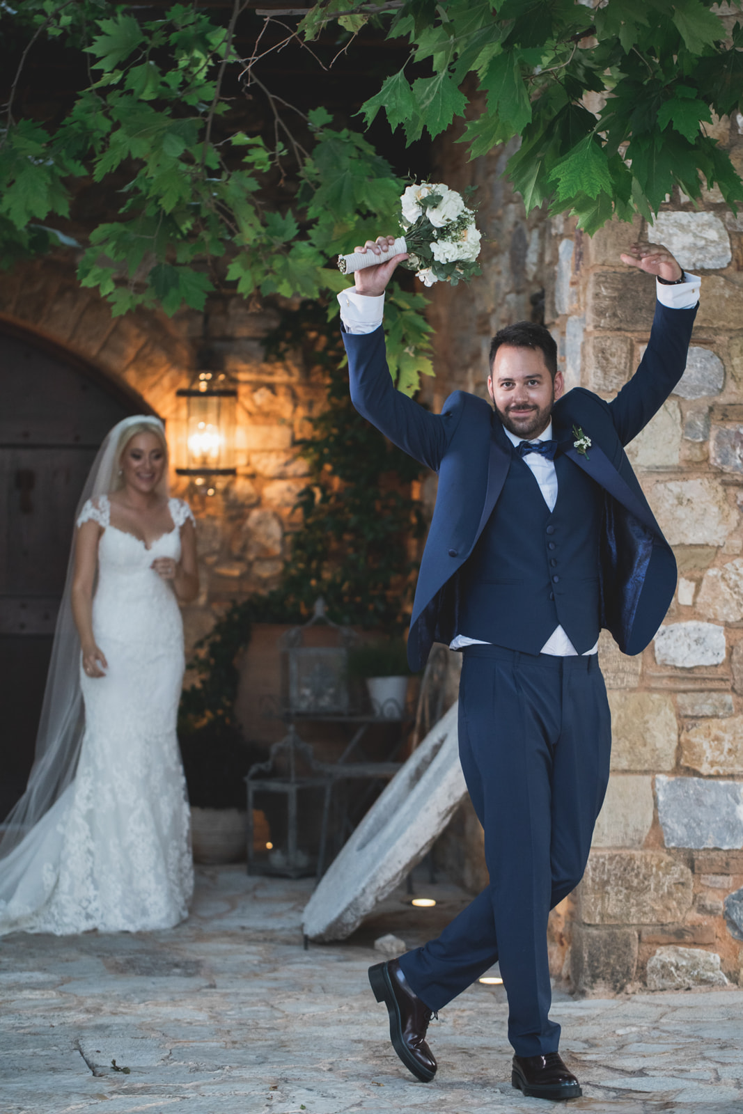 The dream wedding of George and Giouli gallery image 1