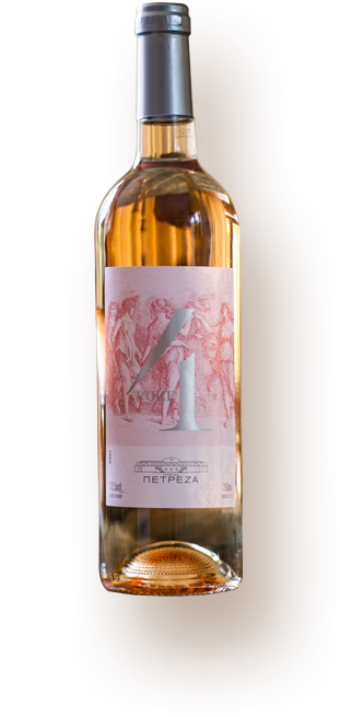 Rose wine - Pyrgos Petreza